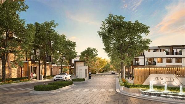 Perspective of Izumi City - Phase 1.