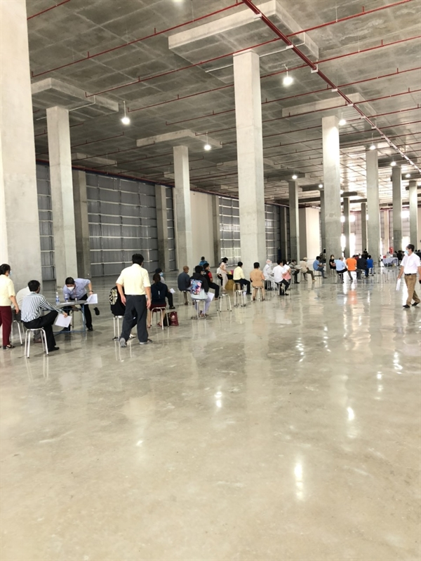 BW provides facilities within the Tan Phu Trung Industrial Park for HCMC's largest COVID-19 vaccination campaign