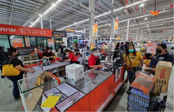 Một cửa hàng bán vật liệu xây dựng thuộc chuỗi Dohome. Ảnh: Bloomberg.