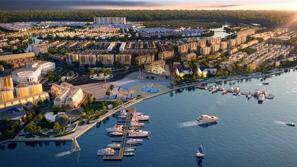 """Aqua City kỳ vọng kiến tạo thành phố """"trên bến, dưới thuyền"""" sầm uất hàng đầu khu vực"""