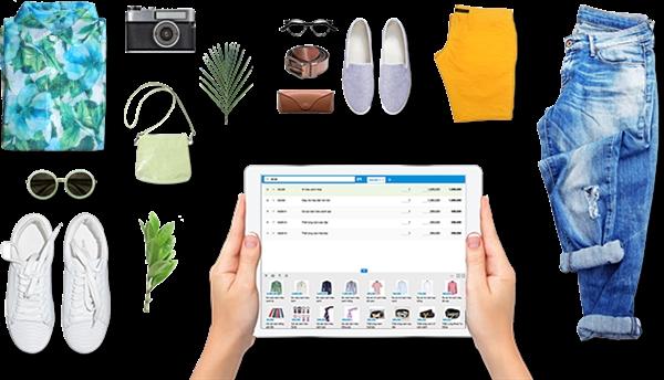 Phần mềm quản lý bán hàng KiotViet giúp bạn tạo hóa đơn và thanh toán trong tích tắc. Ảnh:KiotViet
