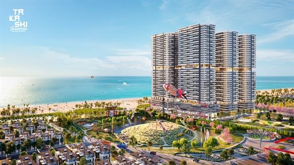 Takashi Ocean Suite Kỳ Co – Khu đô thị biển sôi động tại Quy Nhơn thu hút nhiều nhà đầu tư
