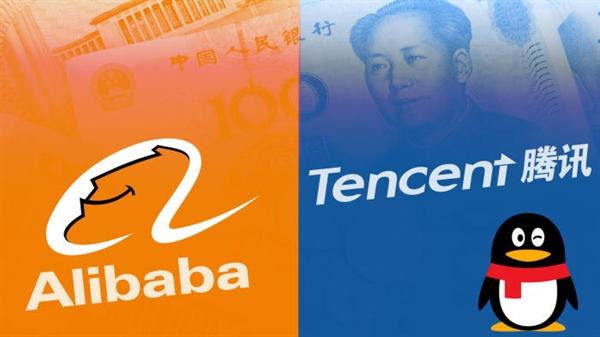 Alibaba và Tencent đã trở thành hai trong số những công ty có giá trị nhất trên thế giới. Ảnh: Financial Times.
