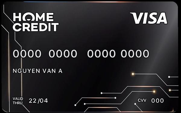 Thẻ tín dụng trực tuyến của Home Credit.