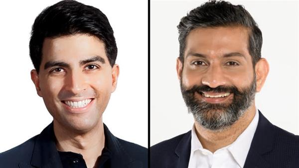 Ông Vishal Harnal (trái) và ông Amit Anand. Ảnh: Ảnh: 500 Startups và Jungle Ventures.