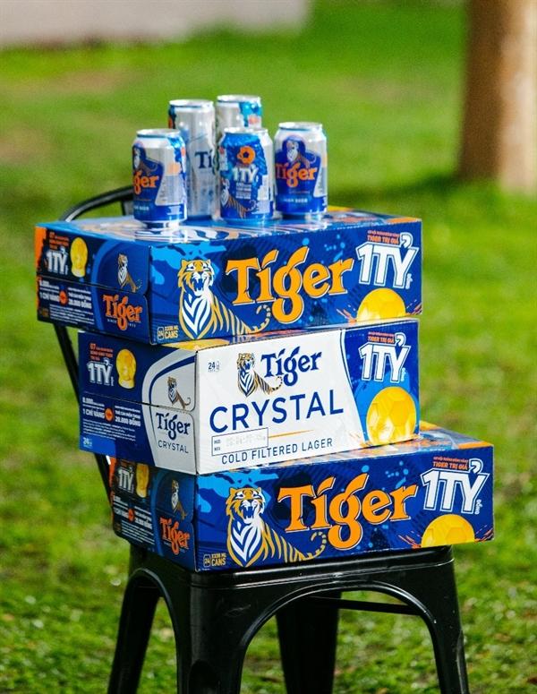 Tiger Beer hy vọng không những mang lại sự sảng khoái với nhiều giải thưởng hấp dẫn dưới nắp lon, mà còn đem đến sự khích lệ tinh thần và tiếp lửa lạc quan tới cộng đồng.