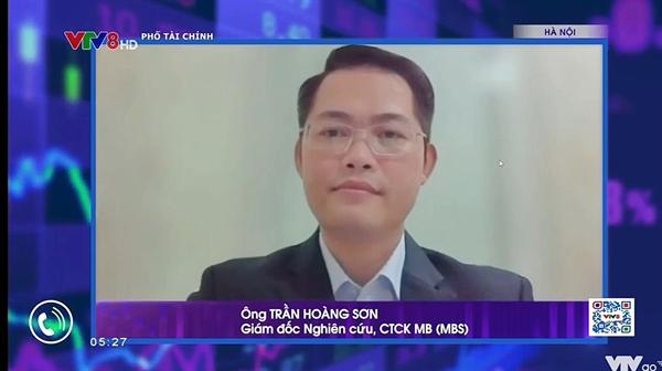 Ảnh chụp màn hình từ TalkShows Phố Tài Chính. Ảnh: PV.