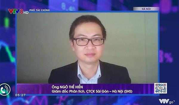Ảnh chụp màn hình từ Talkshow Phố Tài Chính. Ảnh: PV.