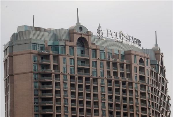 Khách sạn Four Seasons. (Ảnh: Reuters)