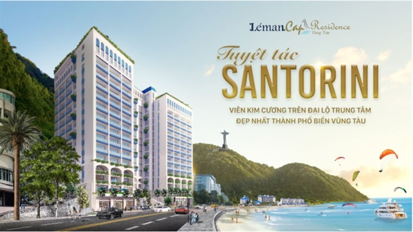Léman Cap Residence is located in Ha Long street - the most beautiful central avenue in the coastal city of Vung Tau