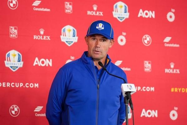 Đội trưởng Padraig Harring của đội châu Âu tại Ryder Cup 2021. Ảnh: Golf Monthly.