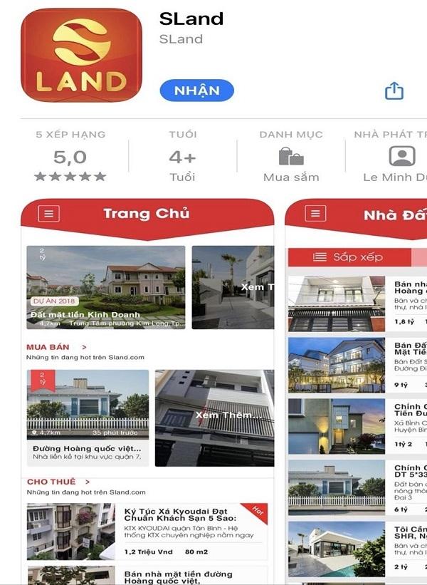 SLAND - phần mềm cần thiết cho các nhà đầu tư bất động sản và môi giới