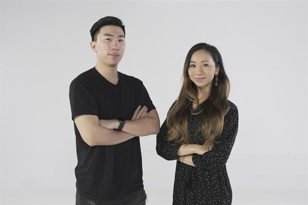 Người sáng lập Danise Sandquist và Oscar Xing Luo.