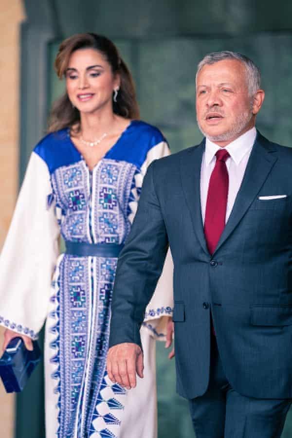 Vua Abdullah II và Hoàng hậu Rania. Ảnh: Shutterstock.