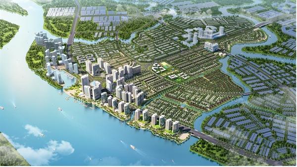 Phối cảnh tổng thể dự án Izumi City.