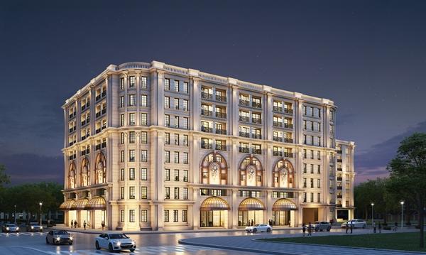 Khu căn hộ hàng hiệu Ritz-Carlton, Hanoi nằm trên phố Hàng Bài, Hoàn Kiếm