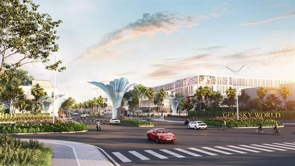 Gem Sky World, khu đô thị đang hình thành mạnh mẽ ngay tại Long Thành, Đồng Nai.